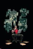 Thuderbolts 12 Cover: Punisher  Venom  Elektra  Deadpool  Red Hulk