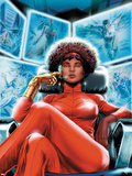 Heroes for Hire No4 Cover: Misty Knight Sitting