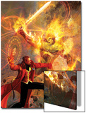 Strange No6 Cover: Dr Strange and Dormammu Fighting