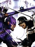 Dark Reign: Hawkeye No2 Cover: Hawkeye and Bullseye