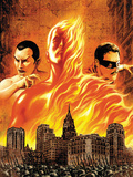 The Marvels Projects No1 Cover: Human Torch