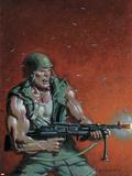Fury Peachmaker No2 Cover: Nick Fury