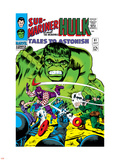 Tales to Astonish No81 Cover: Hulk and Boomerang