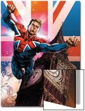 Captain Britain and MI13 No13 Cover: Captain Britain