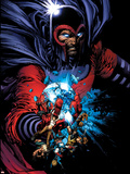 March On Ultimatum Saga Cover: Magneto