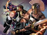 Secret Warriors No8 Cover: Ares and Phobos