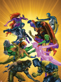 War of Kings No5 Cover: Gorgon