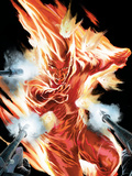The Marvels Projects No2 Cover: Human Torch