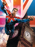 Captain Britain and MI13 No13 Cover: Captain Britain