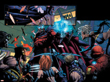 Ultimatum No4 Group: Magneto  Storm and Cyclops
