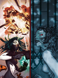 Amazing Fantasy No10 Cover: Scorpion and Vampire By Night