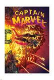 Captain Marvel 16 Cover: Captain Marvel  Spider Woman  Hawkeye