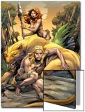 Ka-Zar No1 Cover: Ka-Zar  Zabu  and Shanna The She-Devil