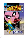 Daredevil No17 Cover: Daredevil  Spider-Man and Marauder