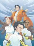 Guardians No4 Cover: Guardians