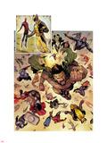 Chaos War No1: Hercules  Wolverine  Thor  Spider-Man  Captain America  Mockingbird  & Black Widow