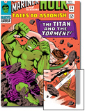 Tales to Astonish No79 Cover: Hulk and Hercules