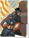 Thunderbolts No164 Cover: Captain America  Mr Hyde  and Baron Zemo