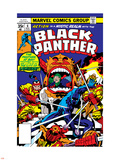 Black Panther No7 Cover: Black Panther Charging