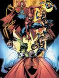 Marvel Team-Up No12 Group: Titannus  She-Hulk  Spider-Man  Dr Strange  Warbird  Nova & Wolverine