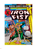 The Immortal Iron Fist: Marvel Premiere No16 Cover: Iron Fist and The Scythe