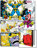 Infinity Gauntlet No4 Group: Thanos  Captain America and Drax The Destroyer