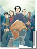 Guardians No3 Cover: Drekk and Guardians
