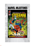 Marvel Milestones No6 Cover: Captain Britain  Spider-Man and Red Skull