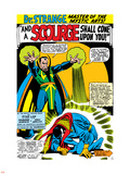 Strange Tales No161 Cover: Dr Strange and Baron Mordo