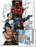 Marvel Spotlight: Marvel Knights 10th Anniversary Cover: Daredevil