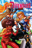 Fearless Defenders 9 Cover: Misty Knight  Valkyrie  Bloodstone  Elsa  Moonstar