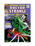 Strange Tales No166 Cover: Dr Strange and Voltorg