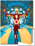 Warlock No1 Cover: Adam Warlock Charging