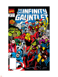 Infinity Gauntlet No3 Cover: Adam Warlock