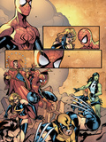 Marvel Team-Up No12 Group: Spider-Man  Wolverine  She-Hulk  Warbird and Dr Strange