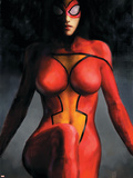 Spider-Woman No1 Cover: Spider Woman