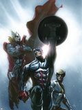 Secret Invasion No8 Cover: Captain America  Wolverine and Thor