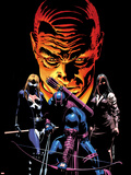What If Dark Reign No1 Cover: Mockingbird  Hawkeye  and Norman Osborn Posing