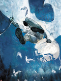 Moon Knight No8 Cover - Moon Knight Jumping