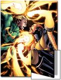 Shadowland: Power-Man No4: Iron Fist and Power Man Fighting