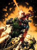 Siege: The Cabal No1 Cover: Dr Doom and Iron Patriot