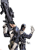 Punisher Vs Bullseye No1 Cover: Punisher and Bullseye