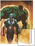 Ultimate Origins No5 Cover: Captain America and Hulk