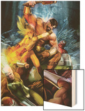 Realm of Kings Inhumans No2 Cover: Crystal  Hercules and Quicksilver