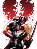 Hawkeye & Mockingbird No6 Cover: Hawkeye and Mockingbird Hugging