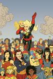 Captain Marvel 17 Cover: Captain Marvel