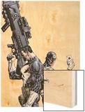 Punisher Vs Bullseye No1 Cover: Punisher and Bullseye