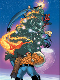 Marvel Holiday Special No1 Cover: Thing