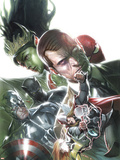 What If Secret Invasion No1 Cover: Thor