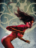 Spider-Woman No2 Cover: Spider Woman
